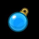 Decorazione blu