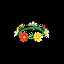 Corona di cosmee (Variopinto)