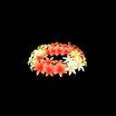 Corona di giacinti (Rosso)