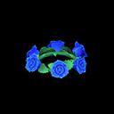 Corona di rose blu (Blu)