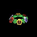 Corona di viole (Variopinto)