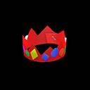 Corona fatta a mano (Rosso)