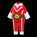 Costume da eroe (Rosso)