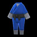 Costume da ninja (Blu scuro)