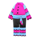 Costume da rumba (Rosa)
