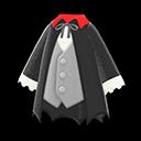 Costume da vampiro (Nero)