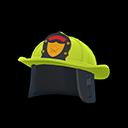 Elmo da pompiere (Giallo limetta)
