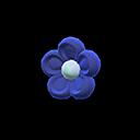 Fermacapelli floreale (Blu scuro)