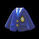 Giacca con stemma (Blu marino)