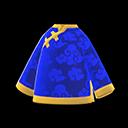 Giacca di seta (Blu)