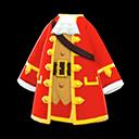 Giaccone da pirata (Rosso)