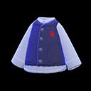 Gilet boa (Blu marino)