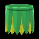 Gonna foglie di banano (Verde)