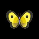 Farfalla gialla