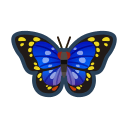 Farfalla imperatore viola