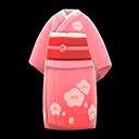 Kimono floreale (Rosa)