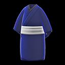 Kimono informale (Blu scuro)