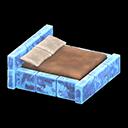 Letto iceberg (Blu ghiaccio)