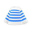 Maglia a righe (Blu)