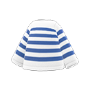 Maglia a righe (Blu marino)