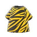 Maglietta animalier (Tigre)