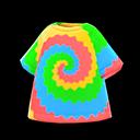 Maglietta batik (Arcobaleno)