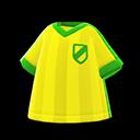 Maglietta da calcio (Giallo)