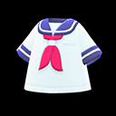Maglietta da marinaio (Blu marino)