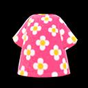 Maglietta floreale (Rosa)