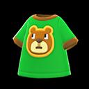 Maglietta orsetto (Verde)