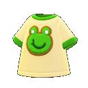 Maglietta rana (Beige)