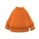 Maglione Aran (Arancio)