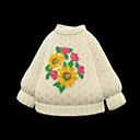 Maglione di mamma (Fiori)
