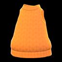 Maglione smanicato (Cammello)
