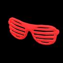 Montatura a tapparella (Rosso)