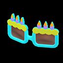 Montatura da compleanno (Blu)