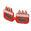 Montatura da compleanno (Rosso)