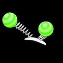 Paio antenne fluo (Verde)