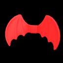 Paio di ali da diavoletto (Rosso)