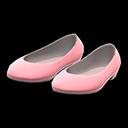 Paio di ballerine in vernice (Rosa)