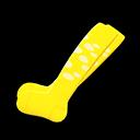 Paio di calze strappate (Giallo)