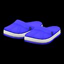 Paio di ciabatte di gomma (Blu marino)
