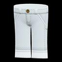 Paio di jeans da lavoro (Bianco)