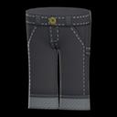 Paio di jeans da lavoro (Nero)