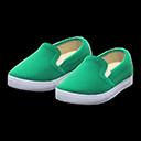 Paio di mocassini casual (Verde)