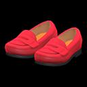 Paio di mocassini (Rosso)