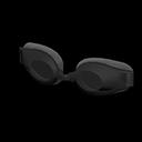 Paio di occhialini da nuoto (Nero)