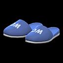 Paio di pantofole da bagno (Blu marino)