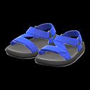 Paio di sandali tecnici (Blu)