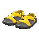 Paio di sandali tecnici (Giallo)